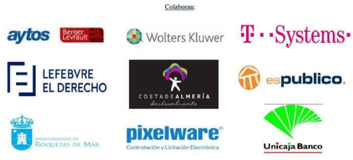 Colaboradores del V Congreso ANDALUZ COSITAL en Almeria