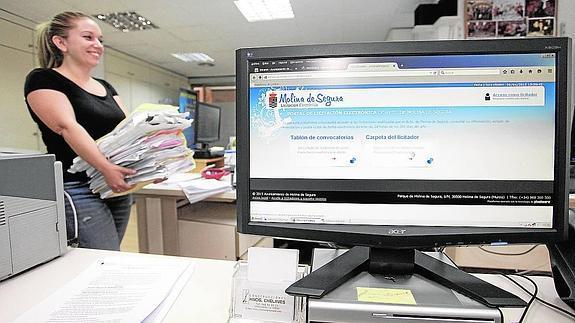 EL Consistorio de Molina de Segura convencido de las ventajas de la Licitación Electrónica
