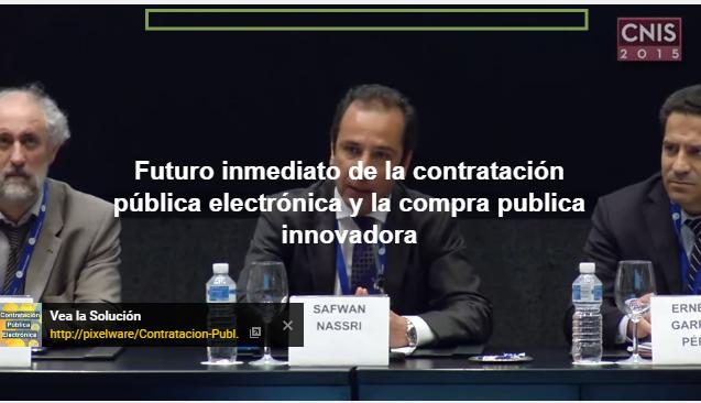 CNIS 2015: Mesa debate de Contratación Pública Electrónica