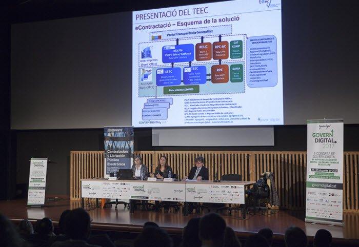 Govern Digital 2017 Presentacion con publico del TEEC