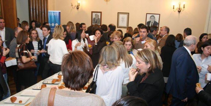 SOCINFO 2017 -Asistentes en la pausa