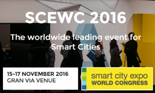 PIXELWARE en el Smart City Expo World Congress 2016